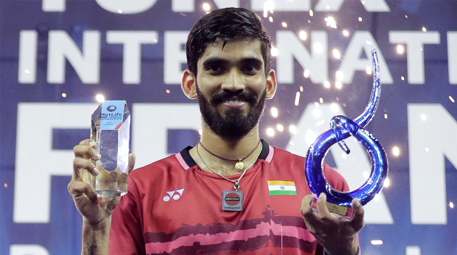 Kidambi Srikanth, French Open