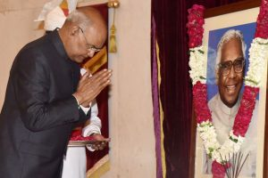President pays tributes to KR Narayanan on his birth anniversary