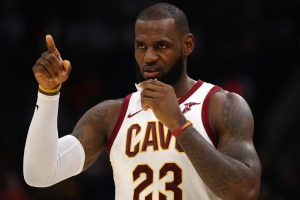 Want to play long enough to foul my son: LeBron James