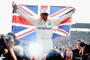 Football legend David Beckham pays tribute to four-time F1 champ Lewis Hamilton