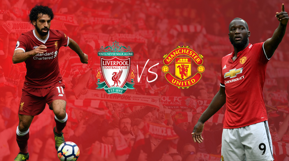 Premier League, Manchester United vs Liverpool, Manchester United FC, Liverpool FC, Mohamed Salah, Romelu Lukaku
