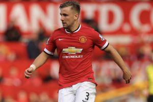 Luke Shaw pays tribute to former Southampton teammate Rickie Lambert