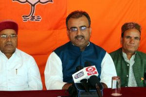 Virbhadra has no respect for Arki's voters: Mangal Pandey