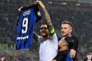 Mauro Icardi hat-trick sees Inter Milan edge AC Milan in thrilling derby