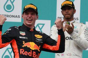 Max Verstappen beats Lewis Hamilton to win Malaysian GP