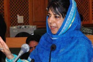 Only dialogue can end violence: Mehbooba