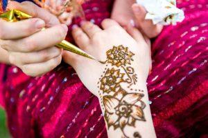 Mehndi rush for celebrations