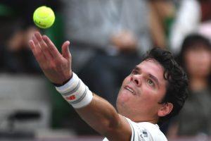 Japan Open: Milos Raonic hammers Viktor Troicki on tennis return