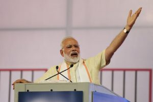 PM Modi launches immunisation programme 'Indradhanush' in Gujarat
