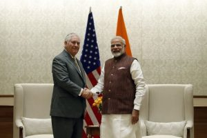 Tillerson's visit to India highlights emerging alliance