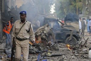 13 dead, more than 16 wounded in Mogadishu hotel blast