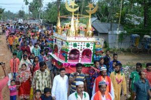 Muharram processions, idols immersion in Tripura with harmony