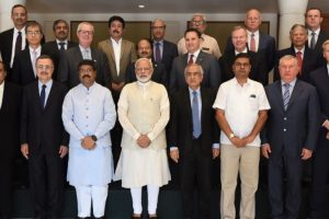 PM Modi meets oil honchos, stresses on need for access to energy in eastern India