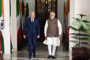 Prime Minister Modi holds talks with Italian PM