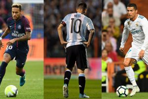 Ronaldo, Messi, Neymar exude confidence over 2018 FIFA World Cup