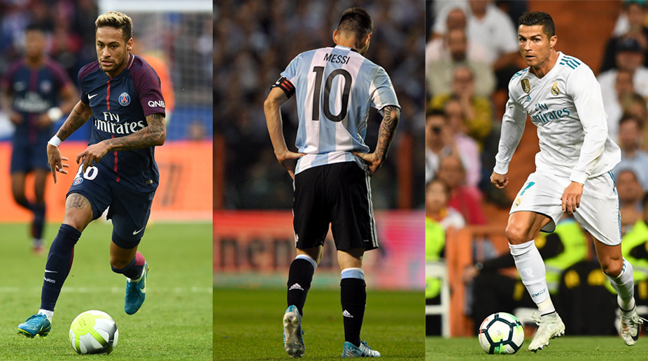 Real Madrid CF, La Liga, UEFA Champions League, Lionel Messi, Neymar, Cristiano Ronaldo, Ballon d'Or