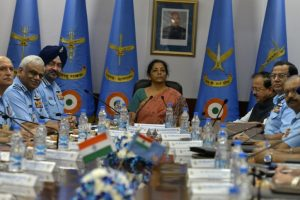 Government to fill gaps in decision-making: Sitharaman to IAF