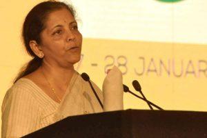 Take 'vikas' seriously, do not undermine it: Sitharaman