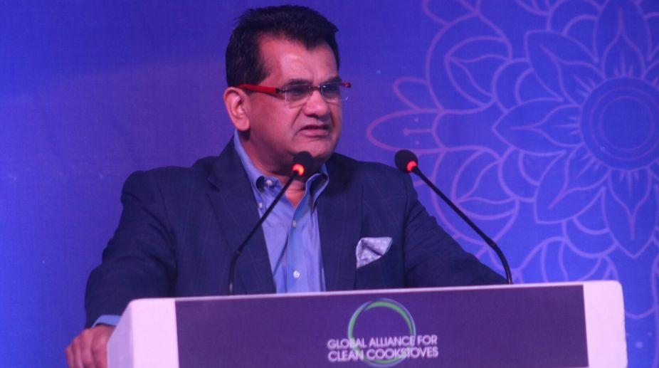 social indices, NITI Aayog CEO, nutrition, childhood poverty, education, Uttar Pradesh