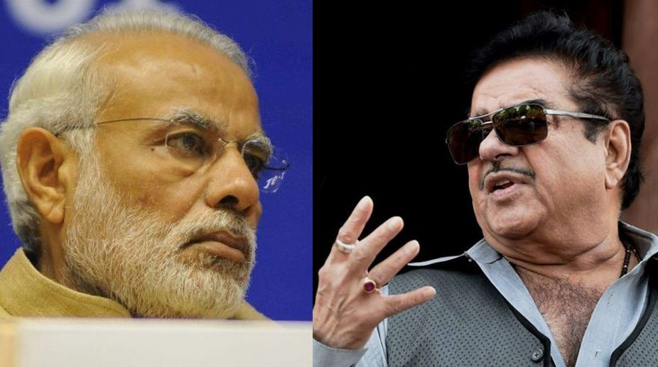 Anybody can become PM: BJP MP Shatrughan Sinha attacks PM Modi