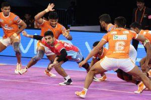 Pro Kabaddi League: Puneri Paltan crush Jaipur Pink Panthers 38-15