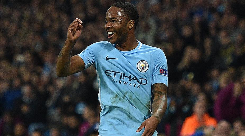 Raheem Sterling, Manchester City F.C., Premier League, UEFA Champions League