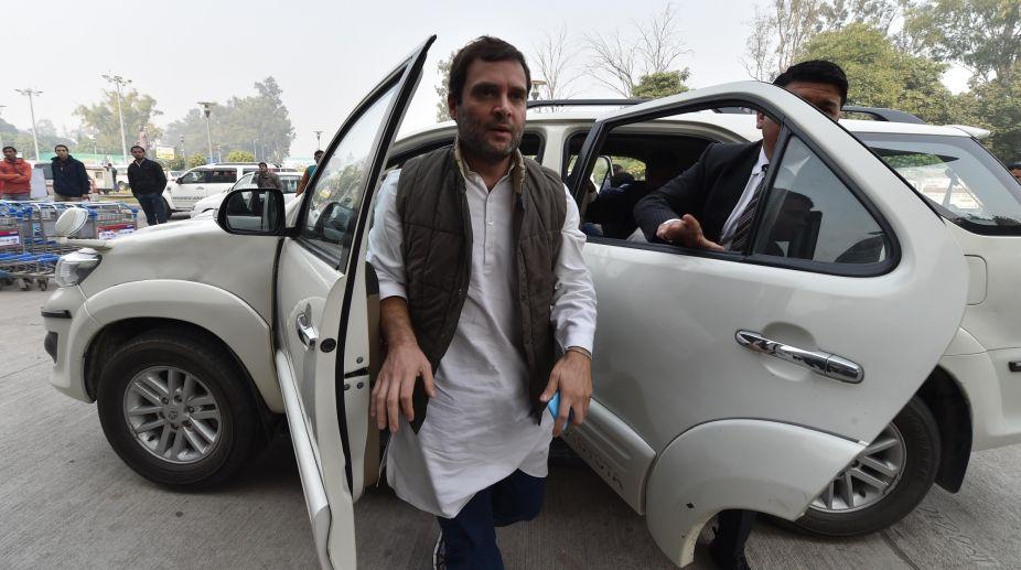 Rahul Gandhi, Congress President, TDP Protest, Jantar Mantar, Andra Pradesh