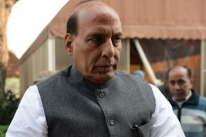 Rajnath Singh dismisses reports of IS presence in Valley