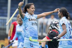 India thrash Kazakhstan to enter women's Asia Cup hockey semis