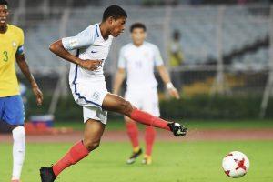 U-17 World Cup: Rhian Brewster nets hat-trick as England beat Brazil