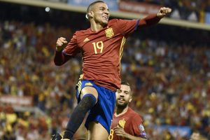 All-star Spain qualify for World Cup after Albania win
