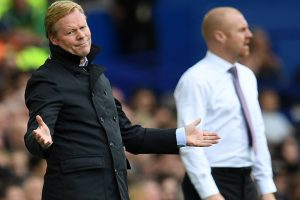Premier League: Ronald Koeman under pressure after Burnley stun Everton