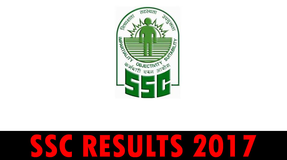 SSC CGL 2017 Tier I results, SSC results 2017, SSC CGL Tier II 2017, ssc.nic.in,