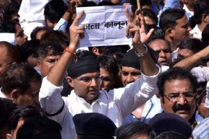 Congress demands scrapping of controversial 'gag-order' bill