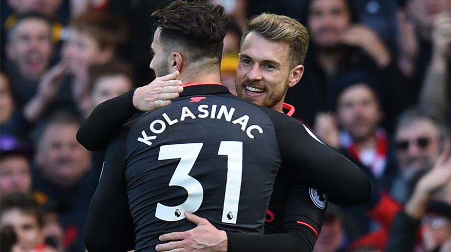 Arsenal FC, Premier League, Sead Kolasinac, Aaron Ramsey