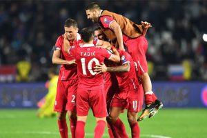 Serbia clinch World Cup spot