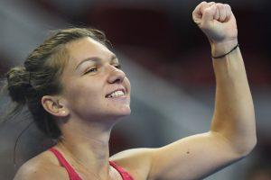 China Open: Simona Halep notches first win over Maria Sharapova