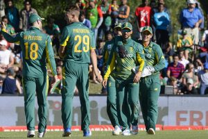 South Africa displace India from top of ODI rankings