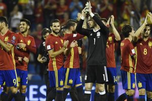 Sergio Ramos posts celebratory photo with Spain squad after World Cup qualification