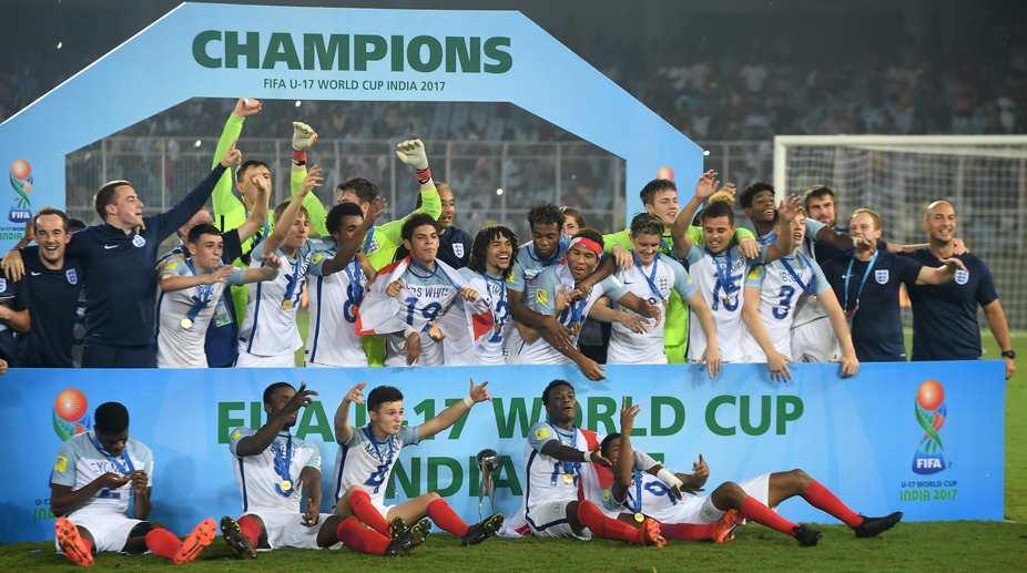 England U-17 football team (Photo: AFP)