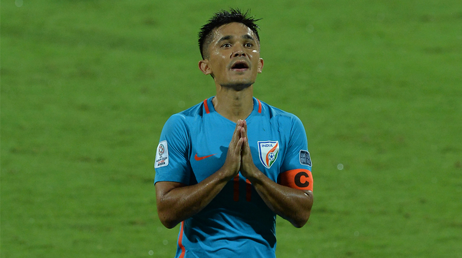 Sunil Chettri , India vs Macau
