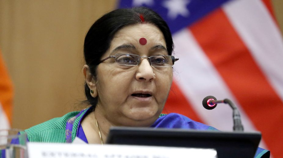Indian hostages held by ISIL killed in Mosul: FM Swaraj says