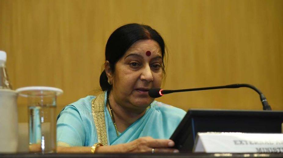 External Affairs Minister, Sushma Swaraj