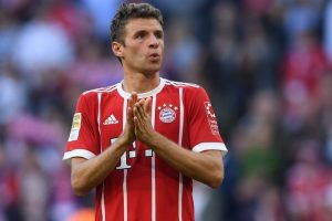 Bayern Munich's Thomas Mueller ruled out for 3 weeks