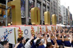 Photos: Tokyo marks 1,000 days countdown ahead of 2020 Olympics