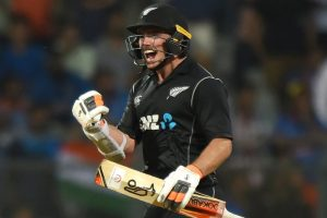 New Zealand's Tom Latham prefers sweep against Indian spinners