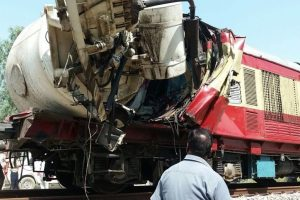 Truck rams into passenger train in Punjab, 1 dead
