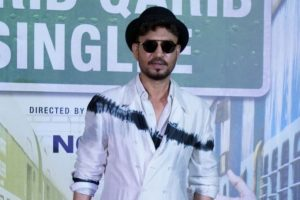 Irrfan was nervous for his new song from 'Qareeb Qareeb Singlle'