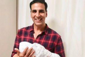 Akshay Kumar shares first pic of Asin, Rahul Sharma's baby girl