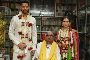 PICS: Vikram's daughter marries M. Karunanidhi's great grandson